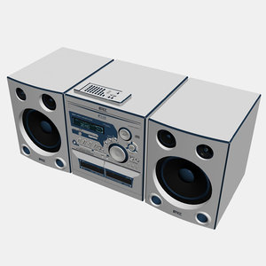 3d max stereo radio player