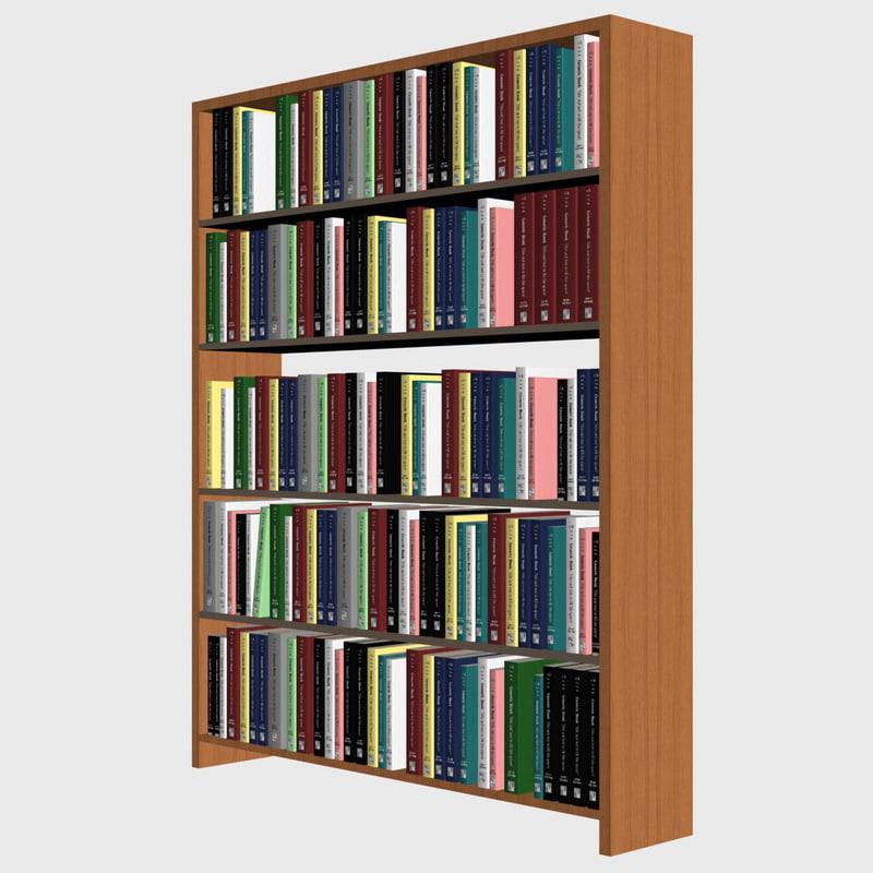 Bookshelf books shelf d max