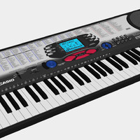 3d keyboard synth synthesizer model