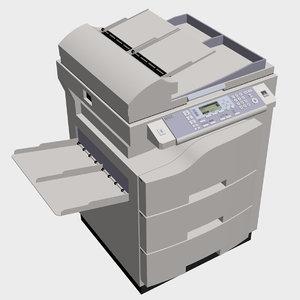 3d copy machine model