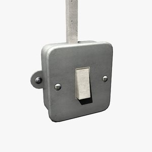 light switch 3d max