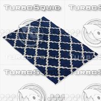 Blue Morrocan Rug