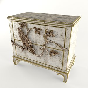 small chest 3d model
