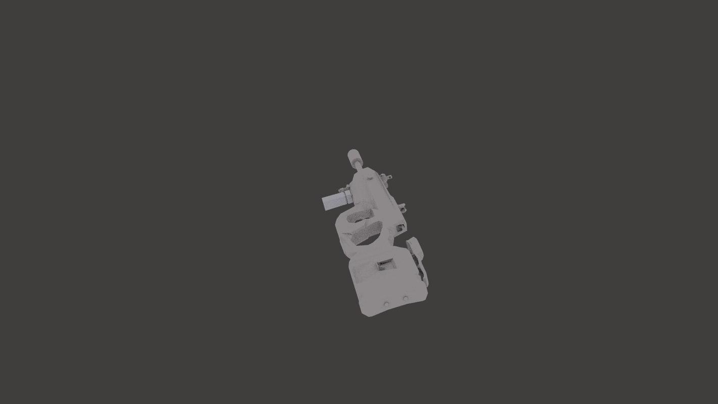 free 3ds model machine gun