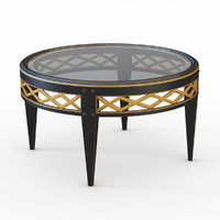 3dsmax coffee table bizzotto