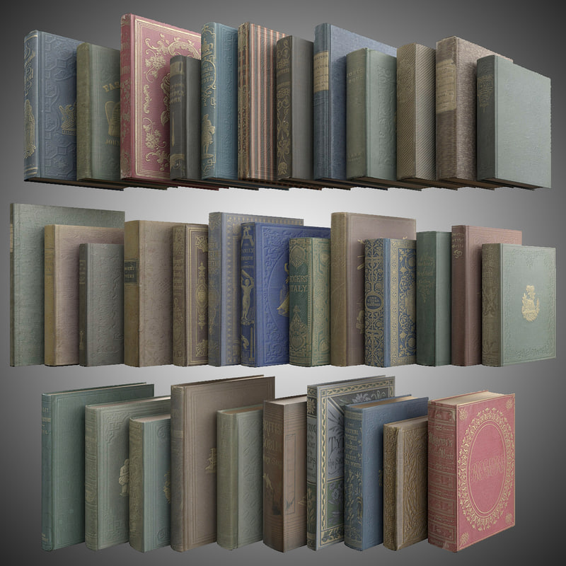 old books 3d max