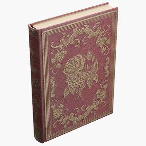 free obj model old book