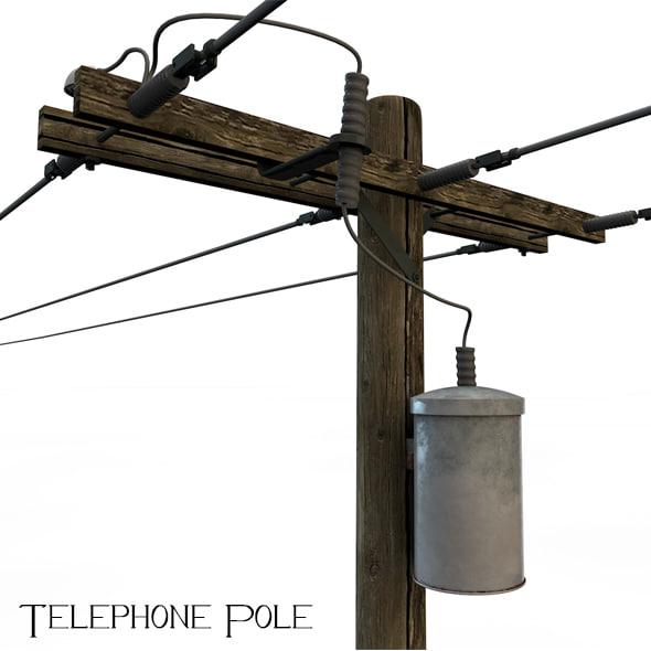 telephone pole 3ds