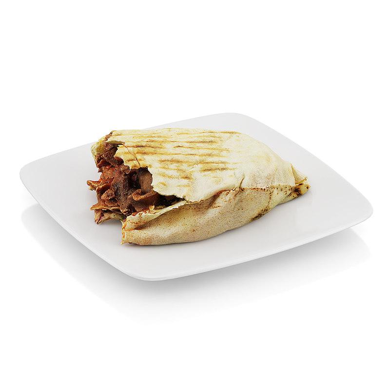 scanned beef tortilla obj