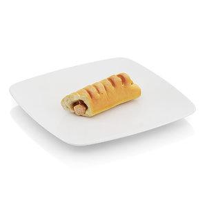 3d model scanned roll sausage