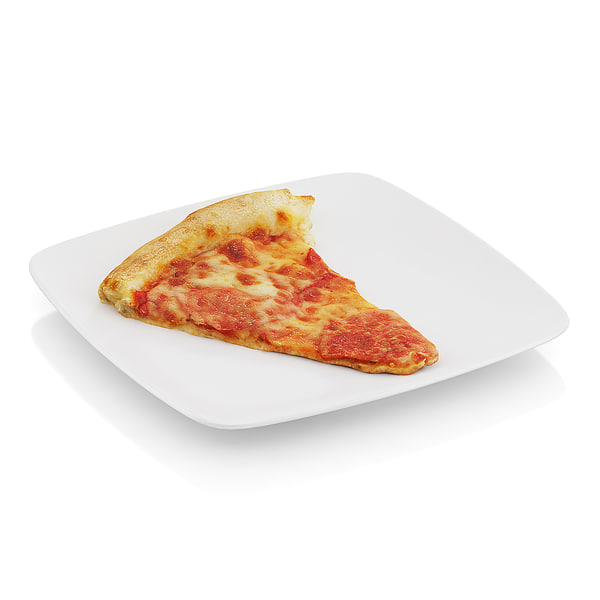 scanned slice pizza 3d model