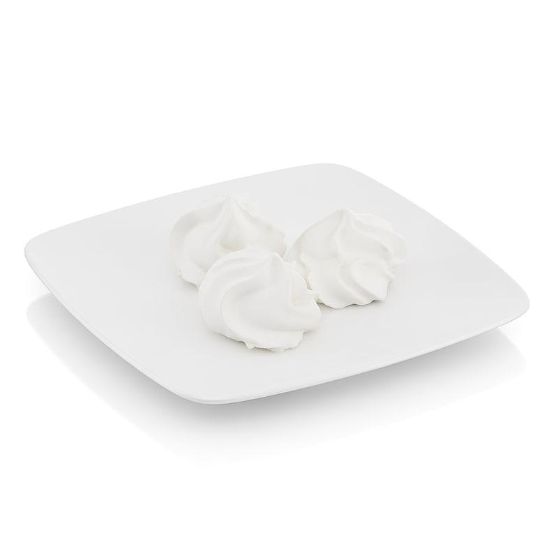 3dsmax meringues scanned