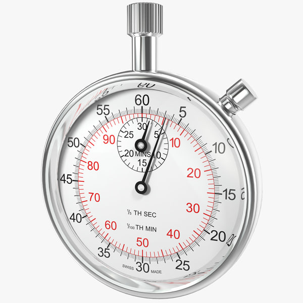 stopwatch watches 3d model
