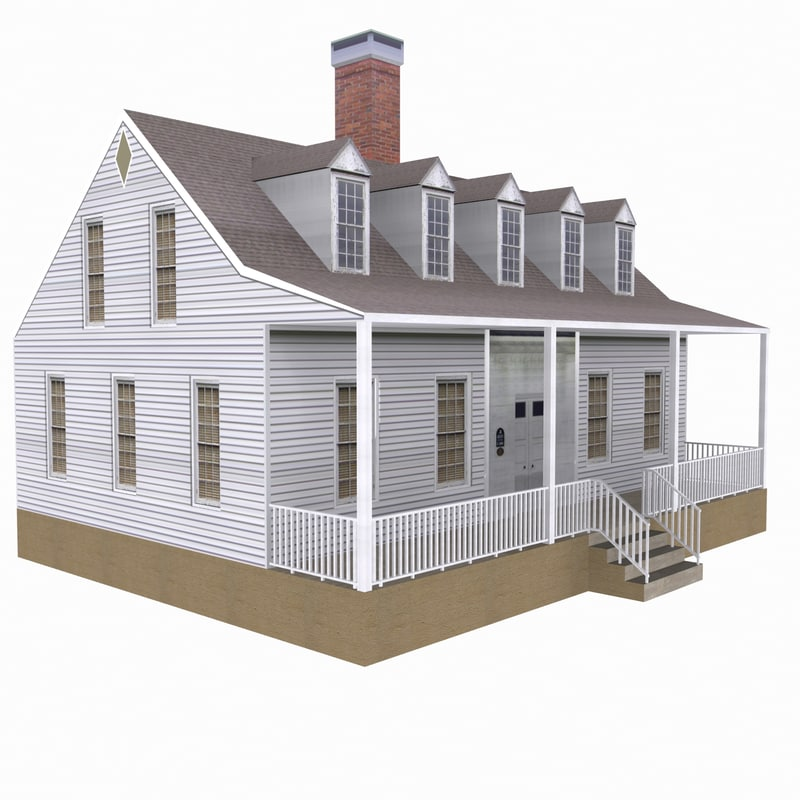 cottage small house model