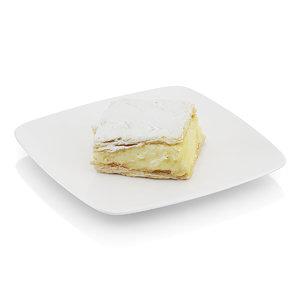 3ds max piece cream pie