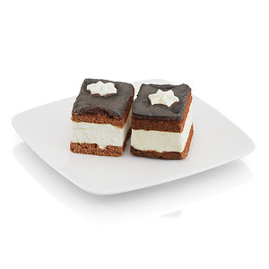 max cream pie chocolate icing
