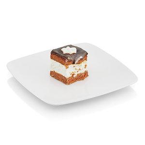 3d eaten cream pie model