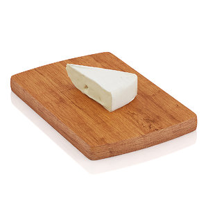3ds max cutted brie cheese