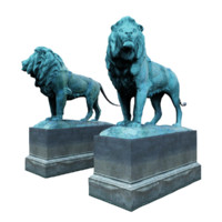 lion sculpture model