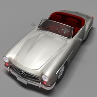 3d mercedes benz convertible