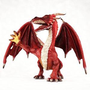 3d - dragon model