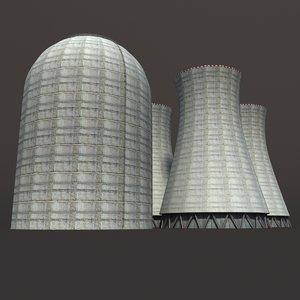 chimney modelled obj