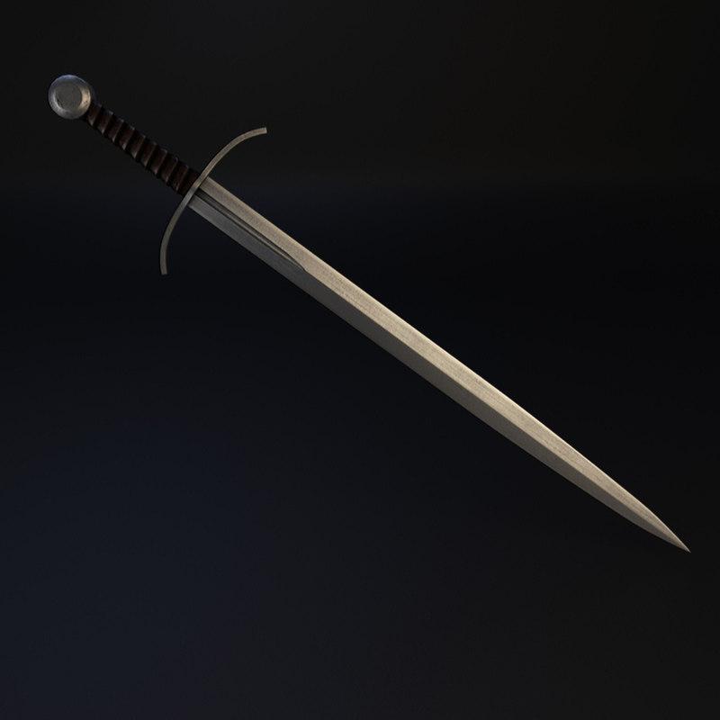 medieval sword xviiia type max