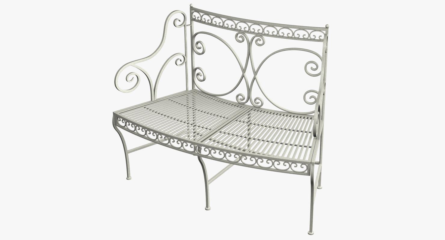 lwo garden bench