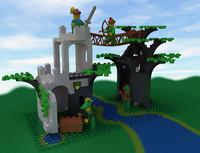 Lego Forestmen Crossing