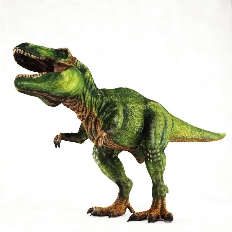 t-rex toy 3ds