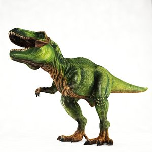 t-rex toy 3ds