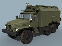Ural-43203 Command vehicle