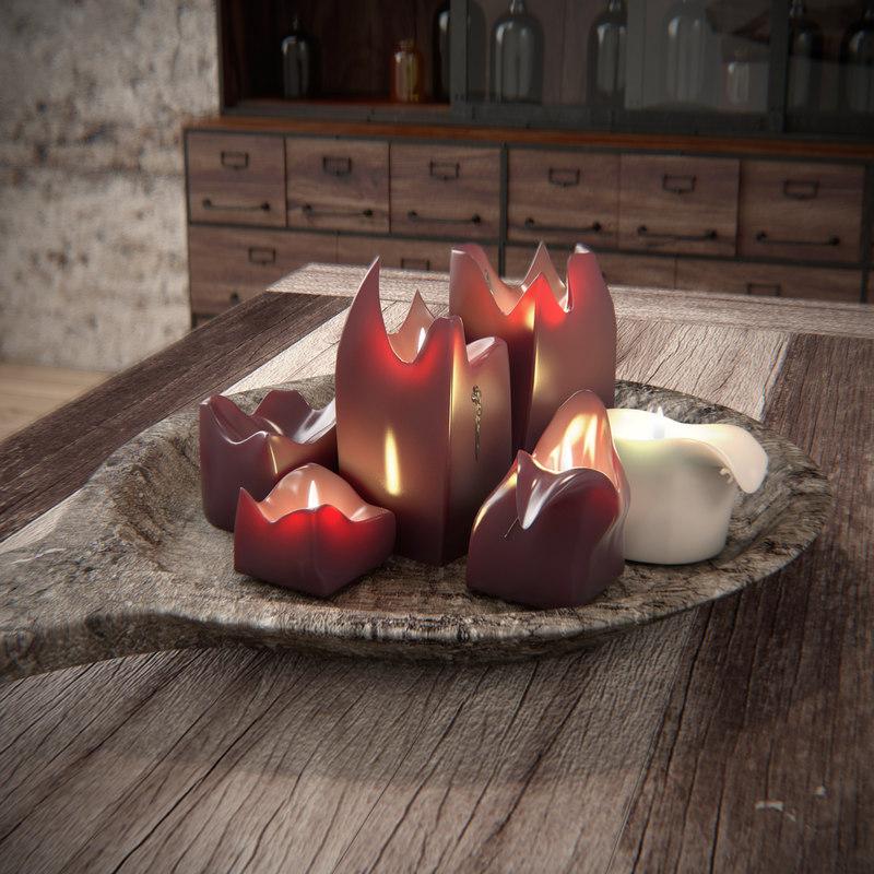 candles 3d 3ds
