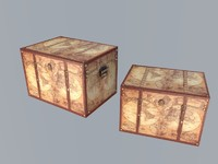 3d treasure box