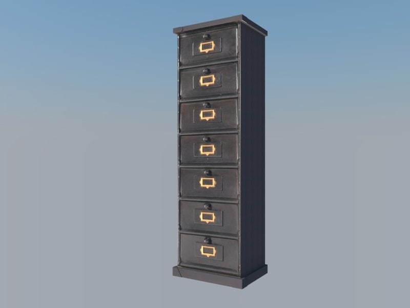 filing cabinet 3ds