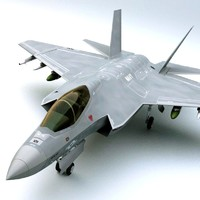 3d 3ds f-35c joint strike fighter