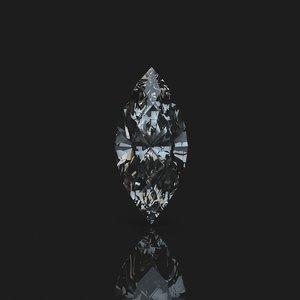 diamond marquis 3d model