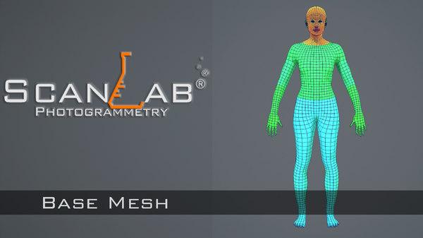 base mesh 3d model