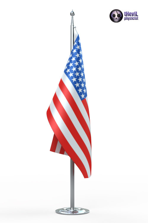3ds max flag rope