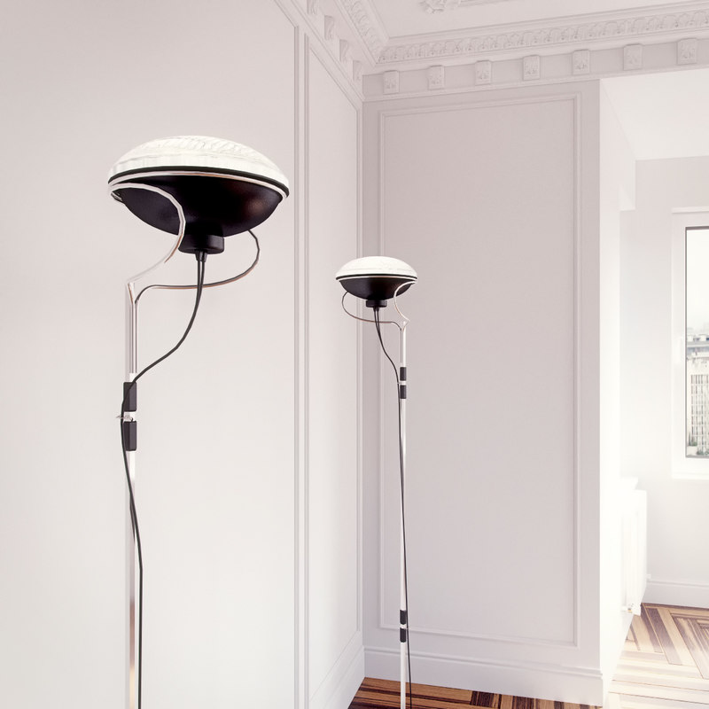 Toio flos model flos toio floor lamp aloadofball Gallery