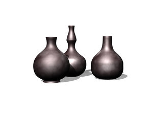 african pottery 3d model