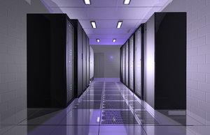 c4d computer server room ibm