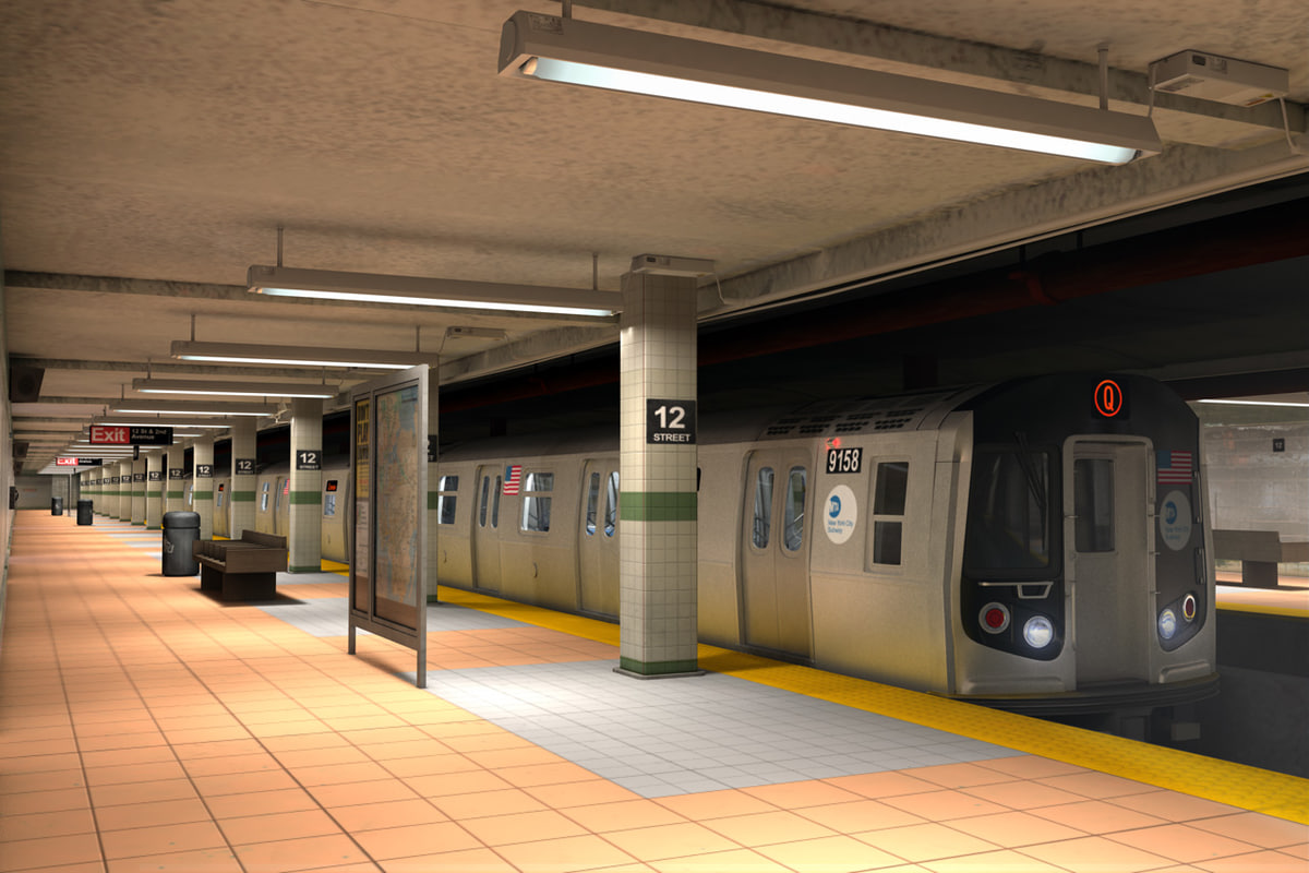 image 3d subway showdown 3 way fucking
