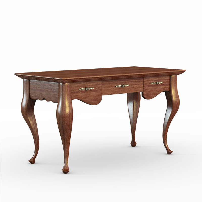 3ds max table desk
