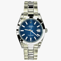 rolex datejust ii blue max