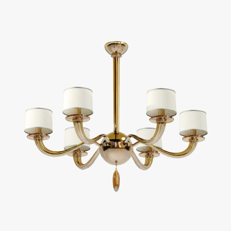3ds max baker signature chandelier