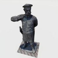 Policeman statue 19th century