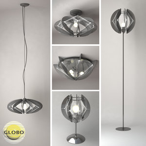 3ds pollux lamps globo