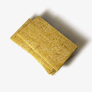 cracker bread 3d c4d