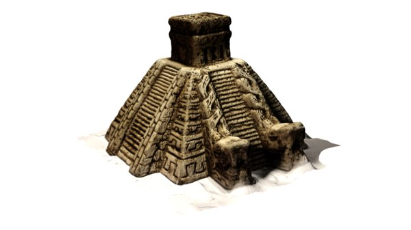 free chichen itza 3d model